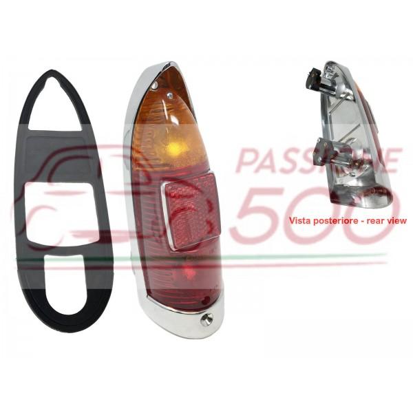 COMPLETE REAR TAIL LAMP AUTOBIANCHI BIANCHINA TRASFORMABILE II° serie BERLINA CABRIO