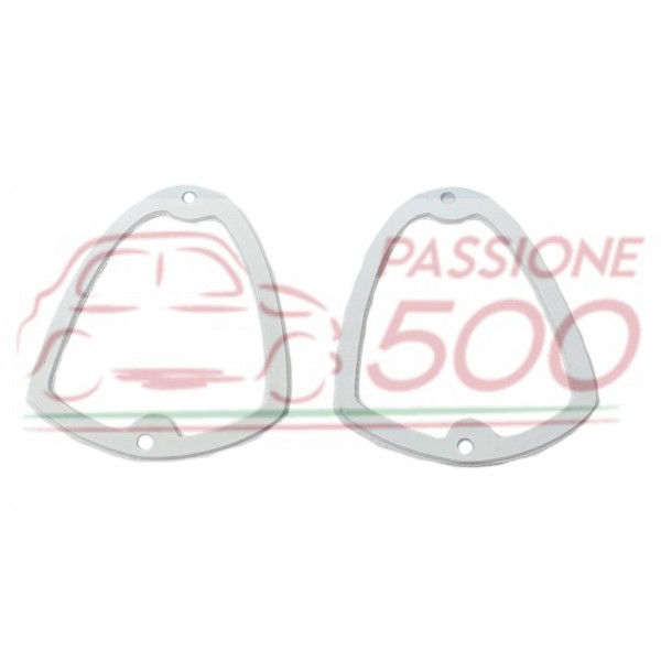PAIR OF INTERNAL GASKET FOR FRONT LAMP AUTOBIANCHI BIANCHINA