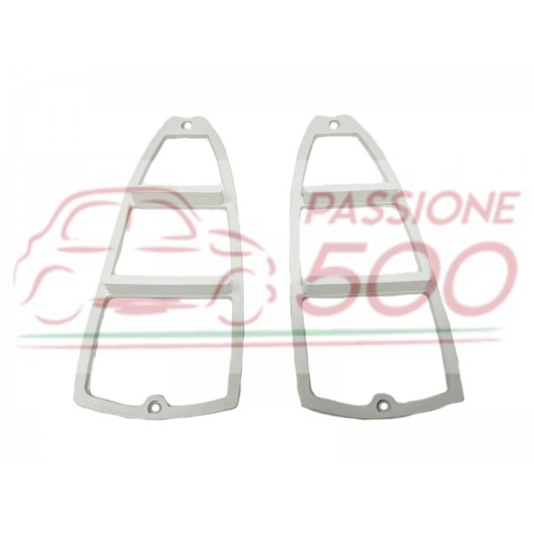 PAIR OF INTERNAL GASKET FOR REAR TAIL LAMP AUTOBIANCHI BIANCHINA TRASFORMABILE II° serie BERLINA CABRIO PANORAMICA