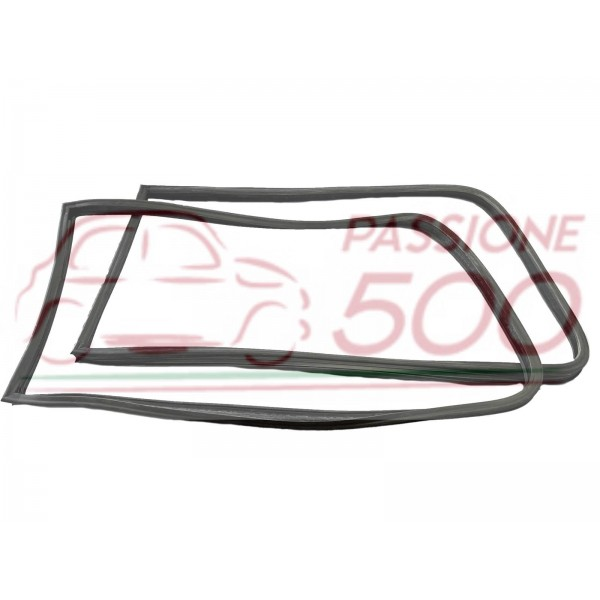 PAIR OF GASKET FOR REAR SIDE GLASS (RH+LH) AUTOBIANCHI BIANCHINA PANORAMICA