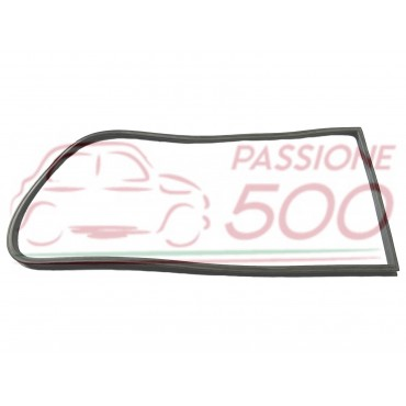 RIGHT GASKET FOR DOUBLE RAIL WEATHERSTRIP OF REAR SLIDING WINDOWS AUTOBIANCHI PANORAMICA