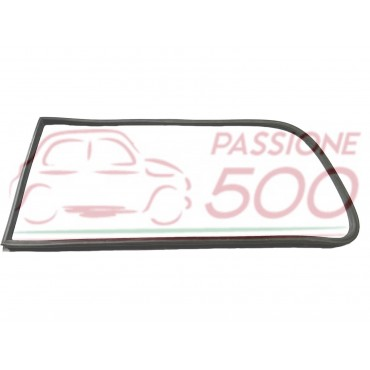 LEFT GASKET FOR DOUBLE RAIL WEATHERSTRIP OF REAR SLIDING WINDOWS AUTOBIANCHI PANORAMICA