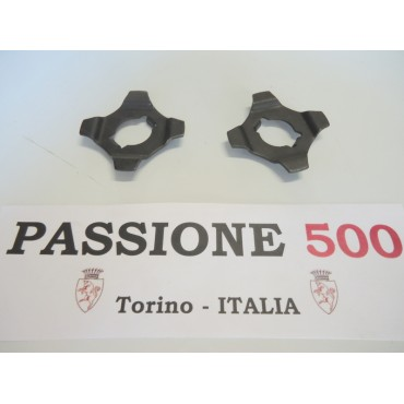 PAIR OF LOCK PLATE FOR FLEXIBLE JOINT OF AXLE SHAFT FIAT 500 F L R