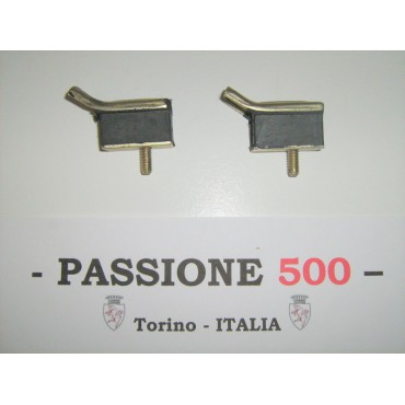 COUPLE OF RUBBER PAD OF GEAR SUPPORT FIAT 500