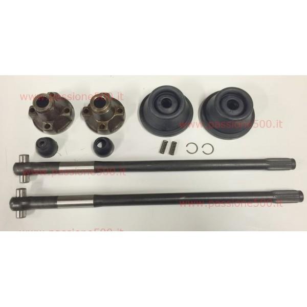 COMPLETE AXLE SHAFT KIT FIAT 500 N D - diameter 19 mm