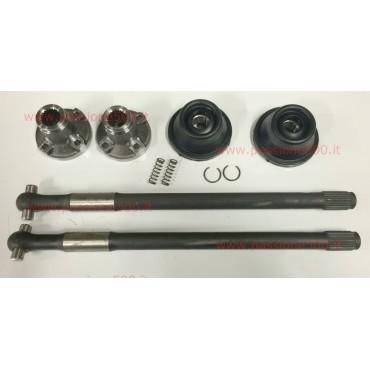 COMPLETE AXLE SHAFT KIT FIAT 500 F L R - diameter 25 mm