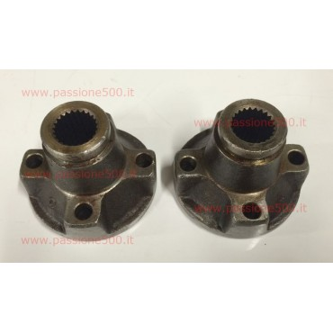 COUPLE OF SLEEVE AXLE SHAFT FIAT 500 N D - diameter 19 mm