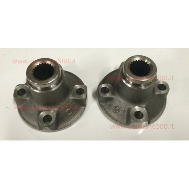 COUPLE OF SLEEVE AXLE SHAFT FIAT 500 F - diameter 19 mm