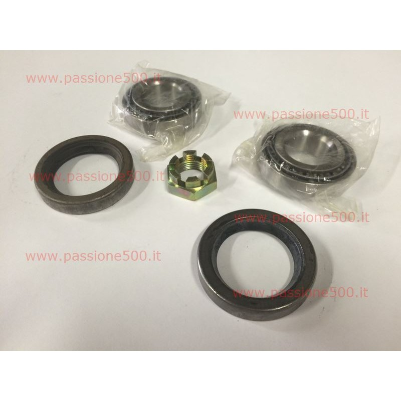 REAR WHEEL BEARINGS KIT FOR FIAT 500 N D (until chassis 622862)