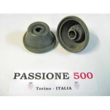COUPLE OF COMPLETE AXLE BOOT diameter 17 mm - GEARBOX SIDE - FIAT 500 N D