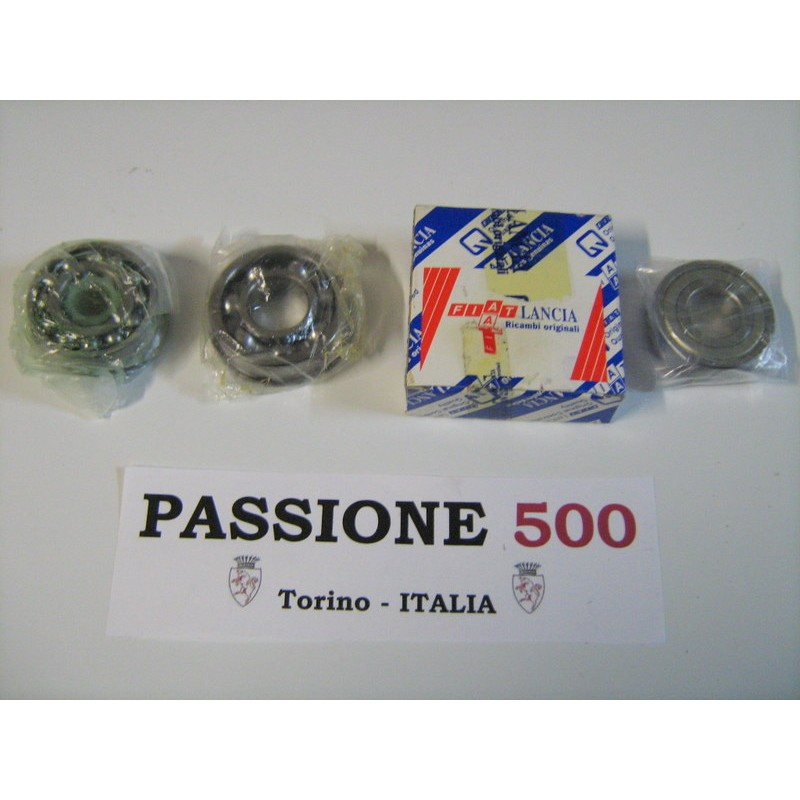COMPLETE KIT OF GEARBOX BEARINGS FIAT 500