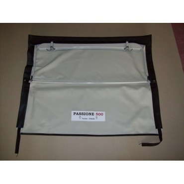 BLACK FOLDING TOP COVER WITH CHASSIS FIAT 500 N D