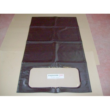 BLACK FOLDING TOP COVER FIAT 500 N D