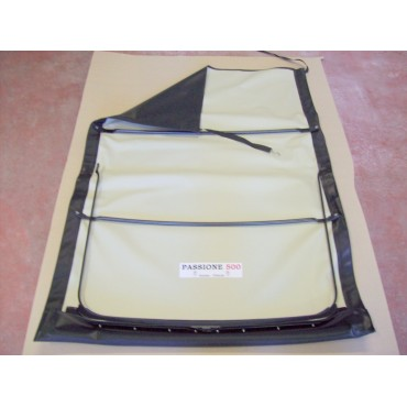 BLACK FOLDING TOP COVER WITH CHASSIS FIAT 500 GIARDINIERA