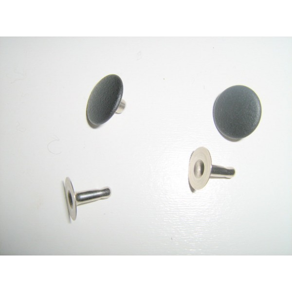 COUPLE OF RIVET FOR FOLDING TOP COVER MIDDLE ROD FIAT 500 F L R GIARD