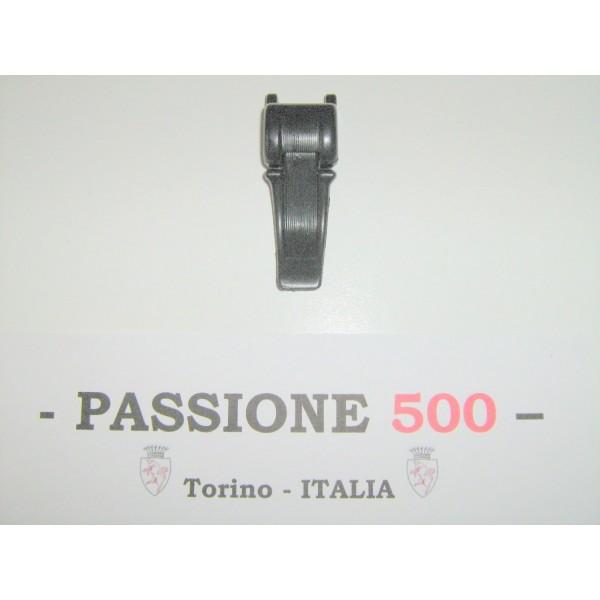 BLACK PLASTIC LATCH FOR FOLDING TOP COVER FIAT 500 F L R GIARD