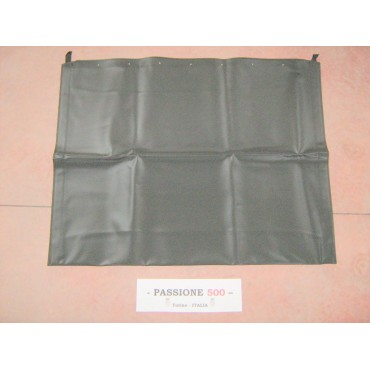 BLACK FOLDING TOP COVER FIAT 500 F L R