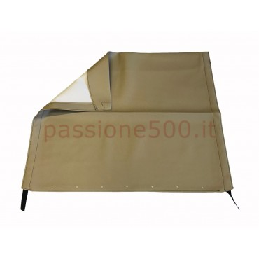LIGHT BROWN FOLDING TOP COVER FIAT 500 F L R