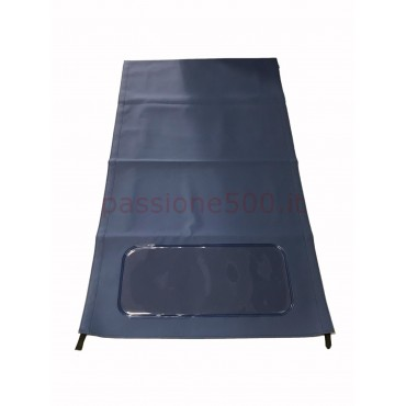 BLUE FOLDING TOP COVER FIAT 500 N D