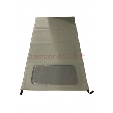 GREY FOLDING TOP COVER FIAT 500 N D