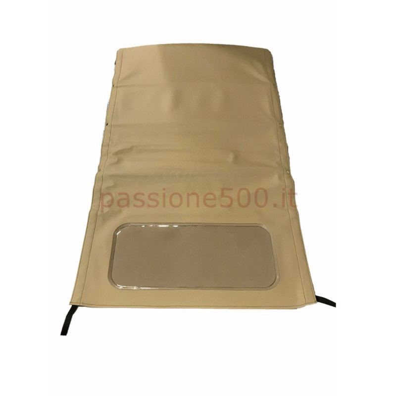 LIGHT BROWN FOLDING TOP COVER FIAT 500 N D