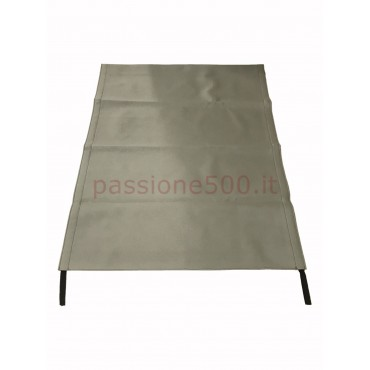 GREY FOLDING TOP COVER FIAT 500 GIARDINIERA