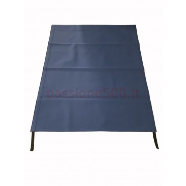 BLUE FOLDING TOP COVER FIAT 500 GIARDINIERA