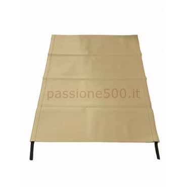 LIGHT BROWN FOLDING TOP COVER FIAT 500 GIARDINIERA