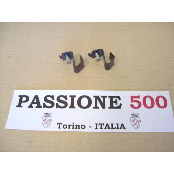 COUPLE OF SPRINGS FOR WHEEL CAP FIXING FIAT 500 GIARDINIERA