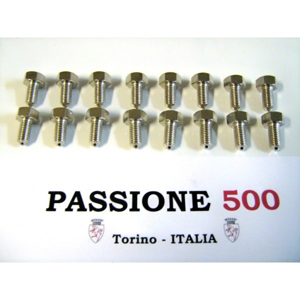 KIT OF 16 WHEEL RIM BOLT- HIGH QUALITY - FIAT 500 N D