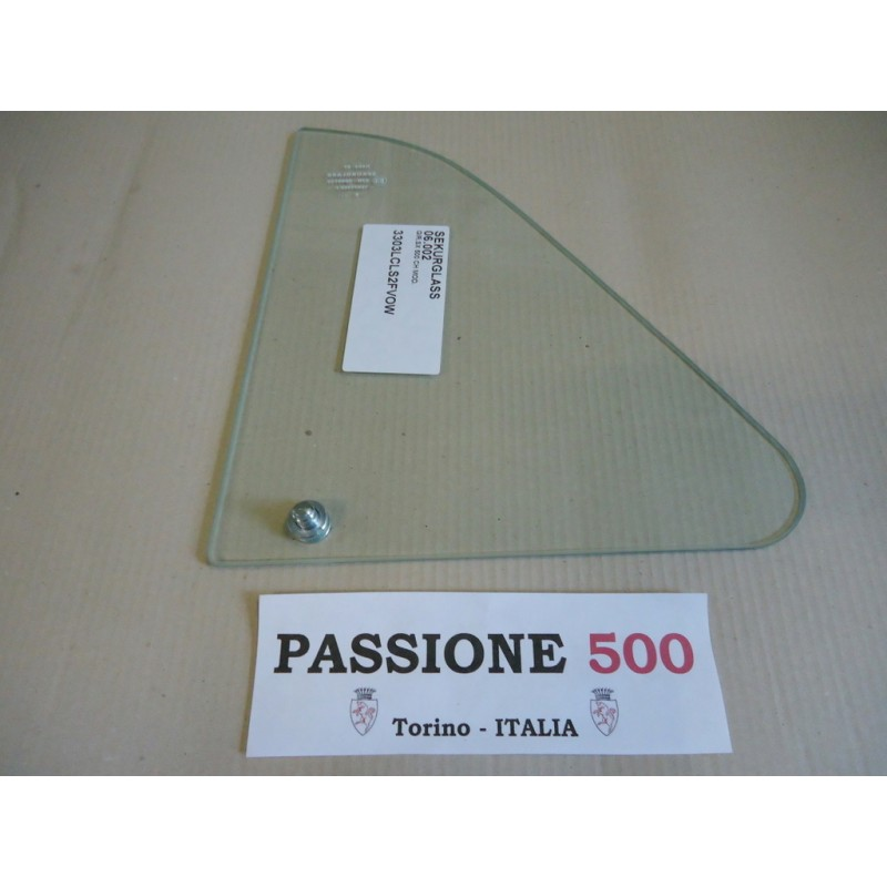 VENT WINDOW GLASS WITH PIN LEFT FIAT 500 L R