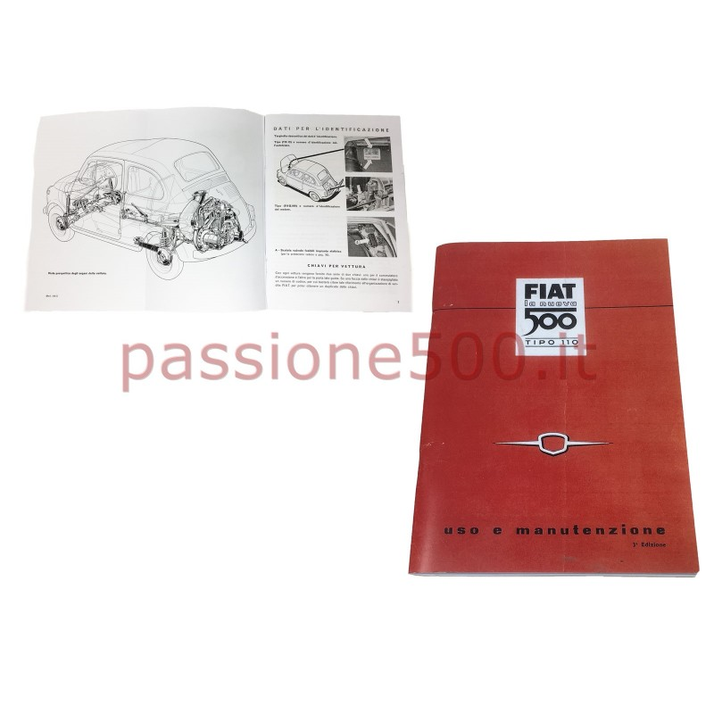 OWNER'S MANUAL FIAT 500 N (copy)