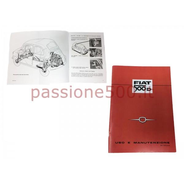 OWNER'S MANUAL FIAT 500 D (copy)