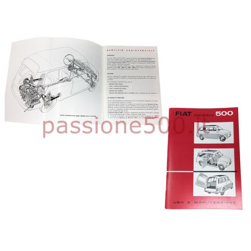 OWNER'S MANUAL FIAT 500 GIARDINIERA (copy)