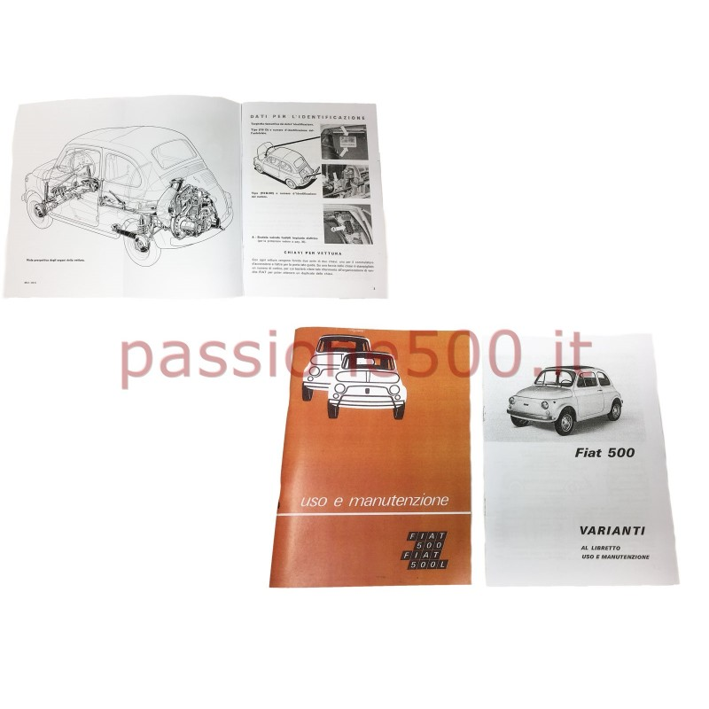 OWNER'S MANUAL FIAT 500 R (copy)