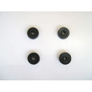 REAR LICENSE PLATE RUBBER SPACER FIAT 500