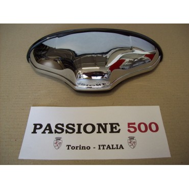 "CHROME NUMBER PLATE LAMP ""ALTISSIMO"" TYPE IN PLASTIC FIAT 500 F L R"