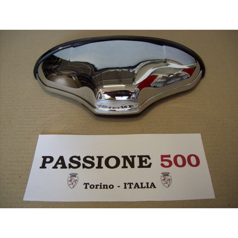 """CHROME NUMBER PLATE LAMP """"ALTISSIMO"""" TYPE IN PLASTIC FIAT 500 F L R"""
