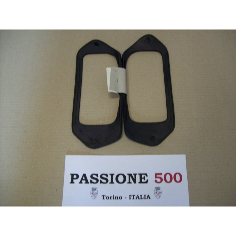 COUPLE OF GASKET FOR REAR TAIL LAMPS FIAT 500 N D