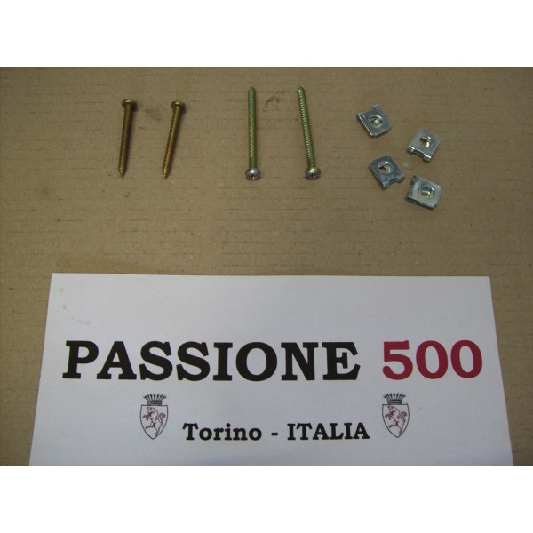 KIT OF SCREWS FOR TAIL LAMPS FIXING FIAT 500 F L R
