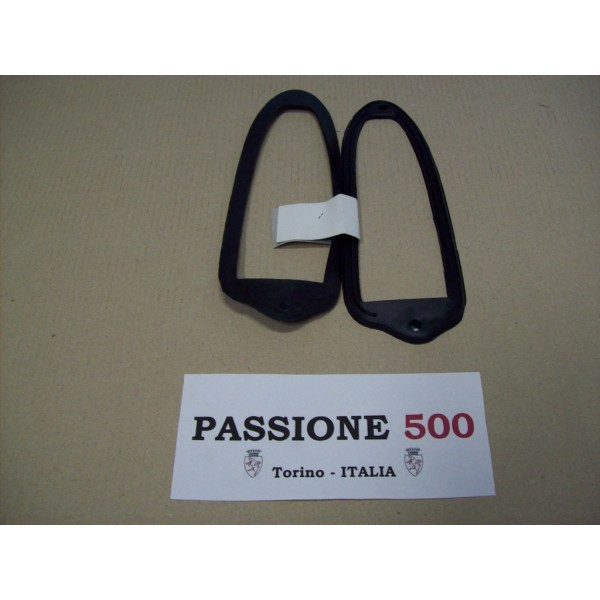 COUPLE OF GASKET FOR REAR TAIL LAMPS FIAT 500 GIARDINIERA