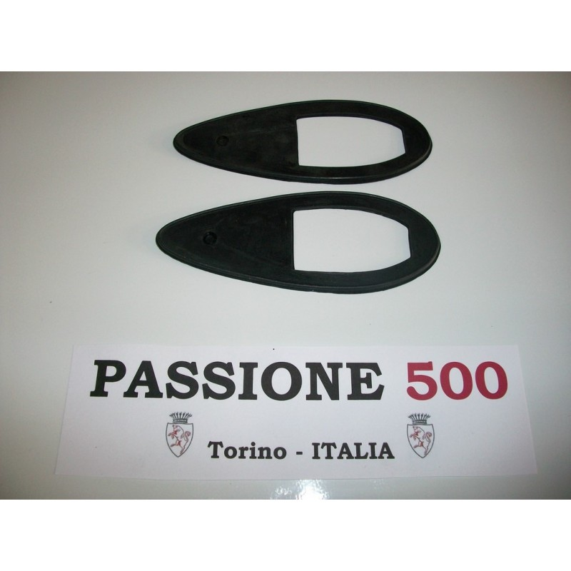 COUPLE OF GASKET FOR SIDE TURN LAMP FIAT 500 N