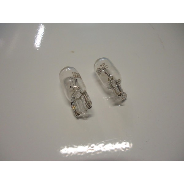COUPLE OF BULBS FOR SIDE TURN LAMP 12V 5W FIAT 500