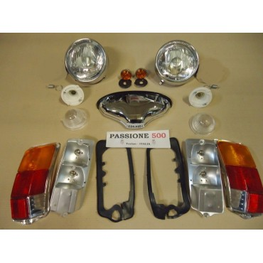 COMPLETE CLASSIC LAMPS KIT FIAT 500 F L R
