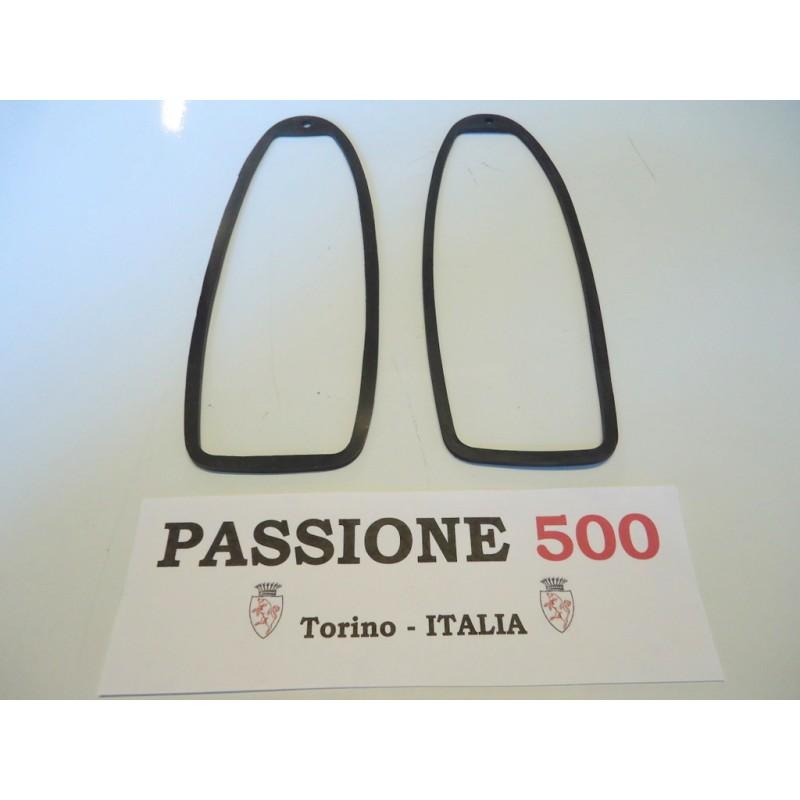 COUPLE OF INTERMEDIATE GASKET FOR REAR TAIL LAMPS FIAT 500 GIARDINIERA