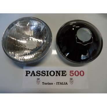 COUPLE OF HEADLAMPS TYPE CARELLO FIAT 500 D