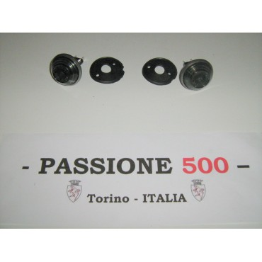 COUPLE OF GREY SIDE TURN LAMP FIAT 500