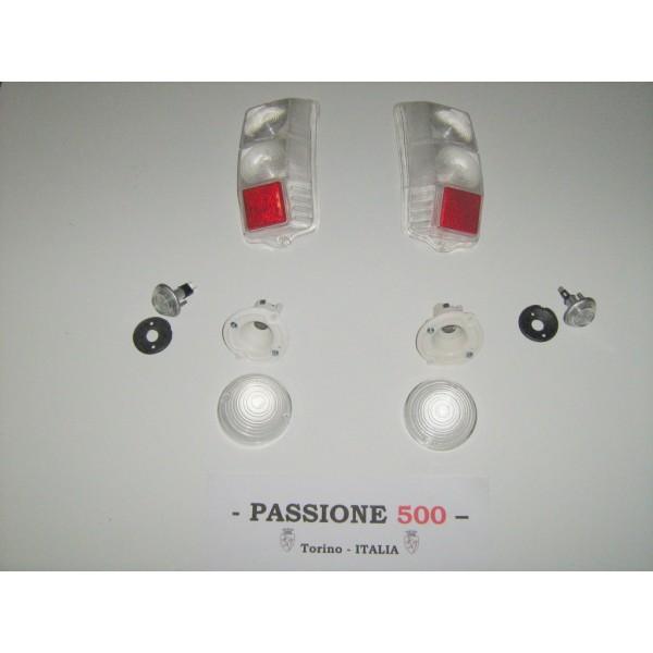 WHITE LAMPS KIT FIAT 500 F L R