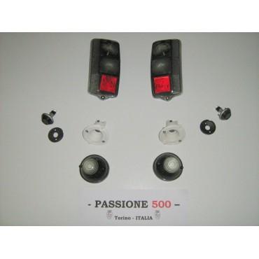 GREY LAMPS KIT FIAT 500 F L R