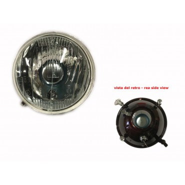 HEADLAMPS CARELLO TYPE WITH PARKING LIGHT FIAT 500 F L R GIARD